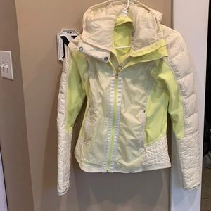 Lululemon goose down and polyester jacket